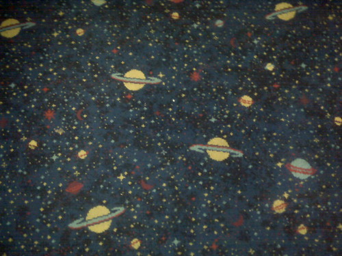 amazing carpet in the cinema in leeds