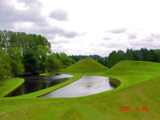 Garden of Cosmic Speculation, Portrack