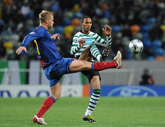 Sporting Lisbon vs FC Barcelona: Champions League 2008/2009 (FCL PHOTOS) Tags: game portugal football europe barca lisboa lisbon soccer match champions fcb sportinglisbon futbolclubbarcelona 200809 groupstage 20082009