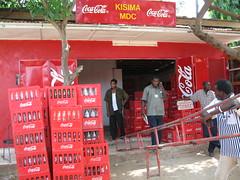 Unloading at Kisima MDC