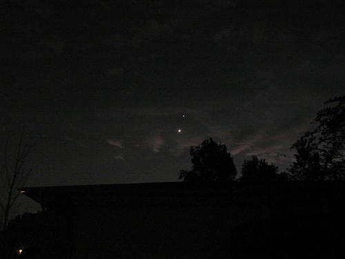 Jupiter and Venus, 29 Nov. 2008, Balance-altered