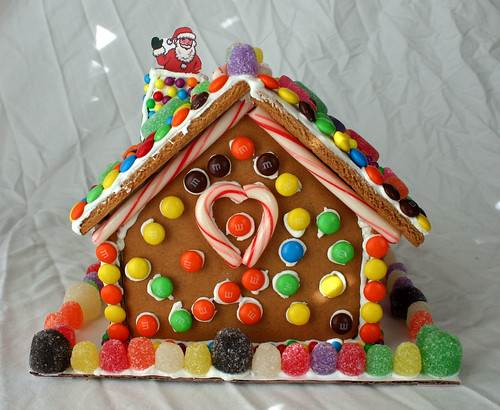 Gingerbread House -- Back