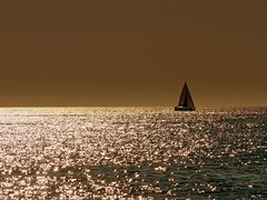 orizzonte (Ev@ ;-)) Tags: light sea italy sailboat orizzonte musictomyeyes flickrhearts