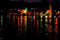 Festa di luci (Cati@) Tags: luci festa acqua colori riflessi notte fontane