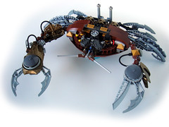Crusty 1 (V&A Steamworks) Tags: lego crab va steamworks bionicle steampunk