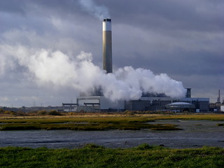 Clouds and Clouds - Fawley Power Station