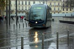 Un tramway nomm... (fabdebaz) Tags: 33 bordeaux pluie tram 2008 distillery tramway aficionados sudouest aquitaine gironde k10d pentaxk10d justpentax dcembre2008 decembre2008