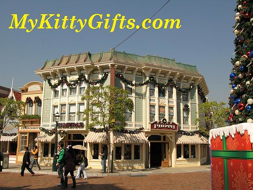 Hello Kitty at Photo Processing Shop of Main Street, Hong Kong Disneyland