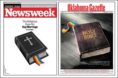 Newsweek vs. OKC Cover