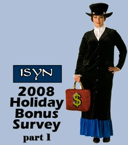 isyn holiday bonus 2008