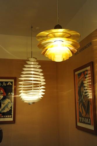 Poul Henningsen の 照明