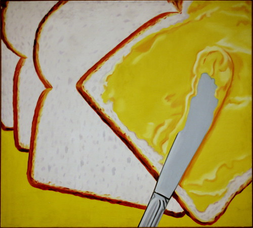 White Bread, 1964,  oil on canvas by James Rosenquist