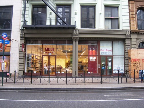 muji store - broadway - soho - a photo on flickriver