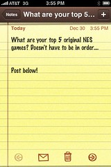 A survey (Xtos) Tags: nintendo nes survey
