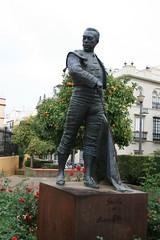 CURRO ROMERO (erasmunguivan) Tags: plaza españa sevilla spain andalucia toros romero curro maestranza curroromero larealmaestranza