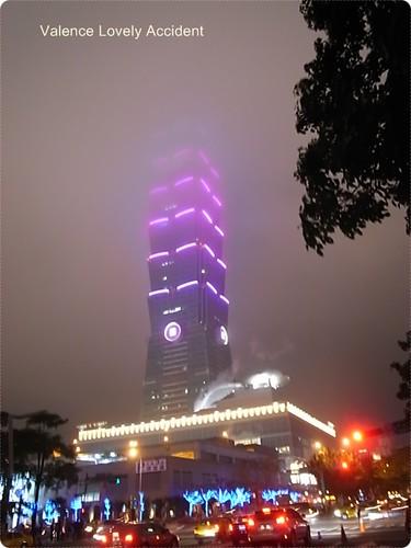 看不見101大樓的底端了