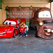 With McQueen and Mater