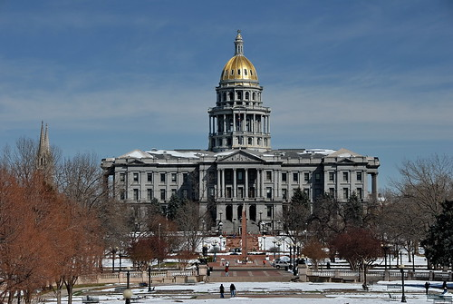 Colorado State Capital (telephoto)