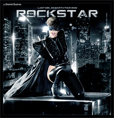 Rihanna - Rockstar 101 (Daniel Suarez) Tags: girl last tour rockstar earth 101 r 2010 on rated rihanna