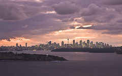 Sydney from North Head (Sarmu) Tags: city light sunset wallpaper urban building skyline architecture night skyscraper lights twilight highresolution downtown day cityscape view skyscrapers nightshot cloudy harbour widescreen sydney australia landmark icon 1600 nsw highdefinition resolution newsouthwales 1200 cbd hd bluehour wallpapers iconic 1920 northhead vantage vantagepoint ws 1080 1050 720p 1080p urbanity 2011 1680 720 2560 sarmu