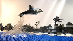 Star Wars : Free Willy (Legoagogo) Tags: starwars lego stormtrooper whale orca darthvader killerwhale chichester afol