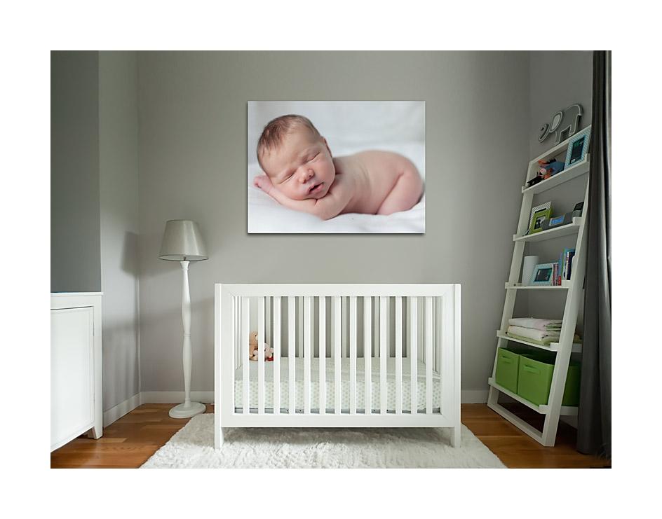 nyfødt portræ 100x80t