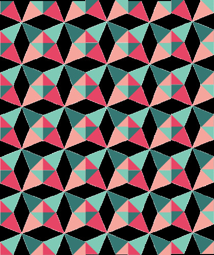 Kaleidoscope QAL Lap Size mock-up