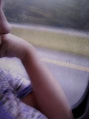 traveling... (Leia Speia) Tags: road selfportrait window roadtrip spc shadowhousecreations