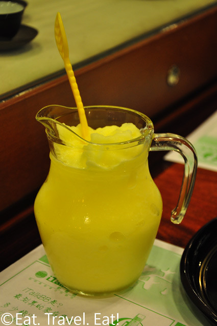 Pineapple Yogurt Slush