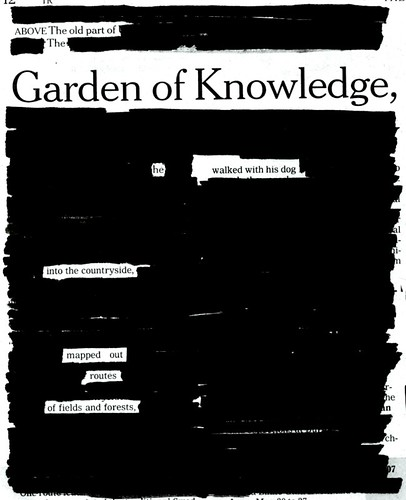 OUTSIDE THE GARDEN OF KNOWLEDGE