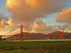 Golden Gate Bridge from Crissy Field (jrodmanjr) Tags: sanfrancisco california bridge sunset goldengatebridge breathtaking crissyfield aia fpc jlr americaninstituteofarchitects curbedsf anawesomeshot ultimateshot goldstaraward absolutelystunningscapes breathtakinggoldaward shapeofamerica panoramafotogrfico