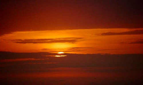 Ecuador Coastal sunset