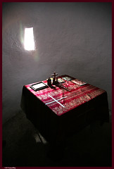 ,    / Holy Altar , Saint Konon Church (-Filippos-) Tags: light window saint faith small cyprus christian altar holy orthodox konon tabe trapeza