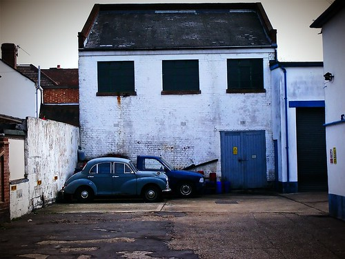 The Blue Garage