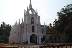 portugese church near panjim (pallav moitra) Tags: beach goa anjuna panjim mandovi zuari baghator
