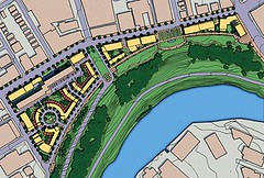 Riverview HOPE VI plan (courtesy Goody Clancy)