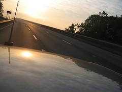 IMG_5871 (methTICALman) Tags: street morning evan sun sunlight mist philadelphia fog skyline clouds sunrise buildings dawn highway driving skyscrapers pennsylvania maryland roadtrip cooper philly delaware evancooper indiecognition