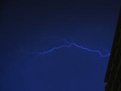 strike (quintinsmith_ip) Tags: blue light sky storm black night dark hotel balcony flash strike roll lightning mallorca palma thunder majorca balearicis
