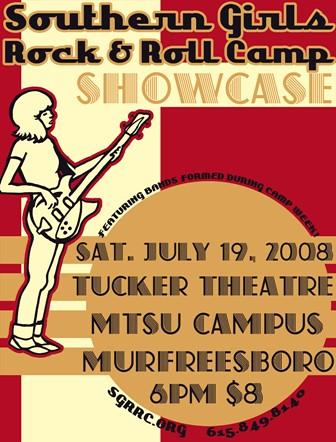 SGRRC 2008 Showcase Poster