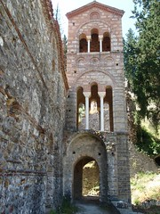 A Byzantine church tower without me in it (steven_and_haley_bach) Tags: byzantine mystras sixthday mistras greecevacation byzantineruins
