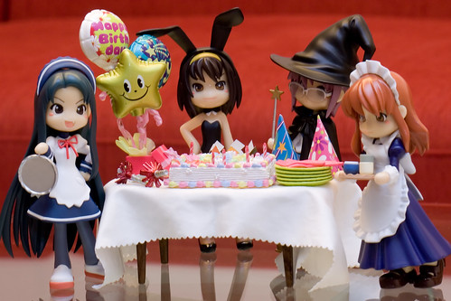 It's Haruhi's Birthday Party by r@chel*.