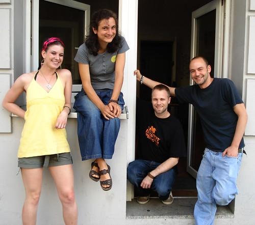 Faluma Crew - Jelka, Julia, Martin, Markus