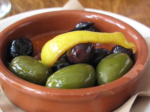Olives at Delfina Pizzeria