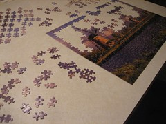 Puzzle (railbalancing) Tags: vacation beach nc purple northcarolina puzzle outerbanks avon obx puzzlepiece hiddenview hateras
