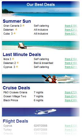 Thomas Cook best deals