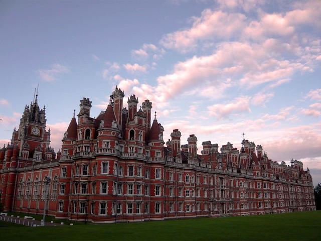 Royal Holloway. Founder's Building