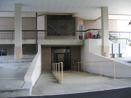 Accessible main entrance