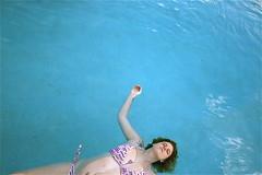July 21 (cavale) Tags: blue summer 3 water pool girl tattoo birthmark orlando heart florida july pregnant tattoos bikini heat portfolio float photodiary bethanie gettyimages catchycolorsblue portraitset hearttattoo facesofportraits lacipeterson orlandoset cavalephotonet