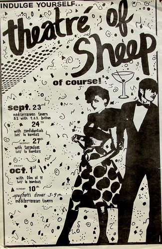 theatre of sheep band poster