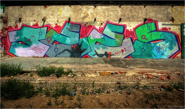 Graffiti @ Reesink (HDR)